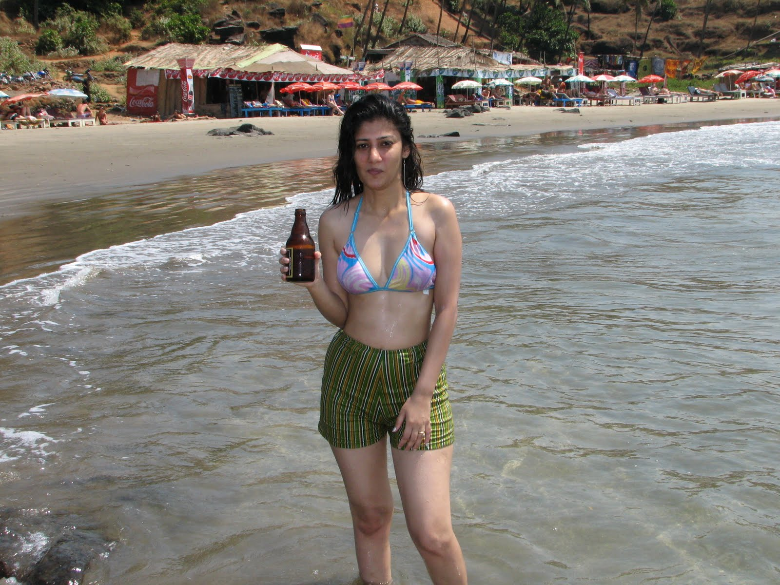 Tight open indian girls in thong turned into